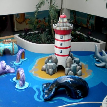 Indoor play place for children