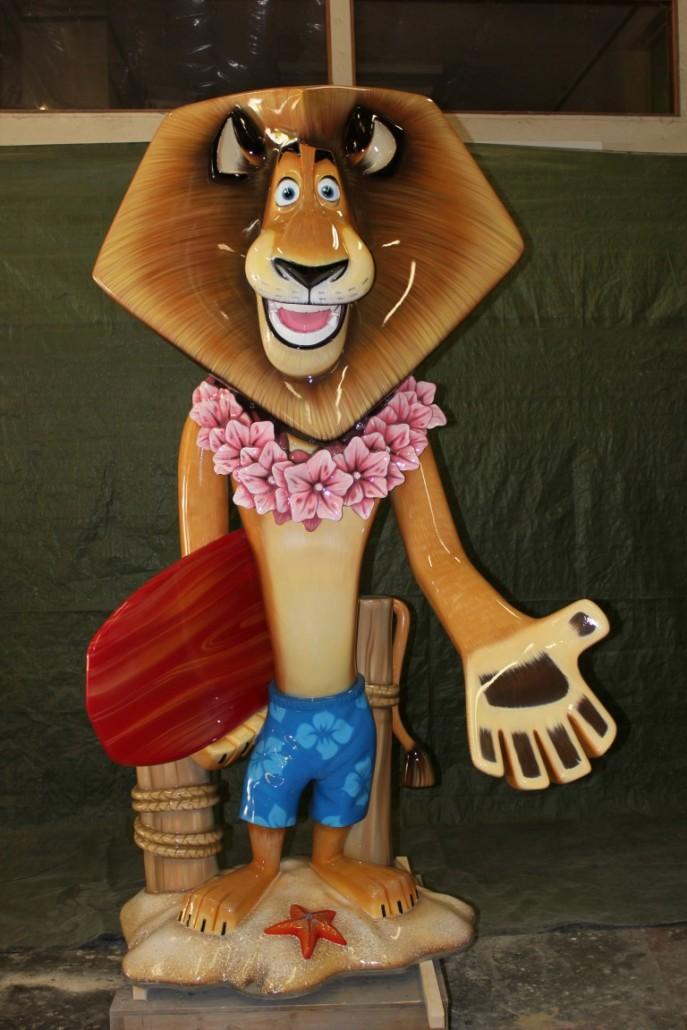 Madagascar Movie Character Design Project – CoolStuff Studios