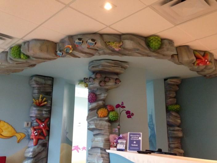 Kids Dentist Interior Design