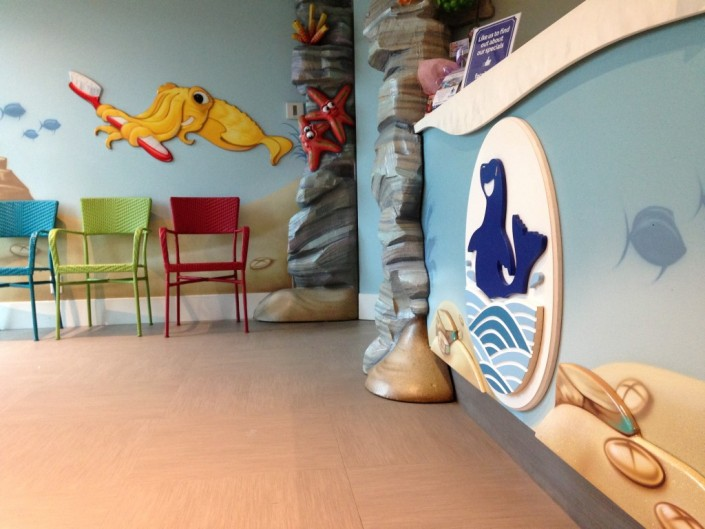 Children Dentist Interior Design
