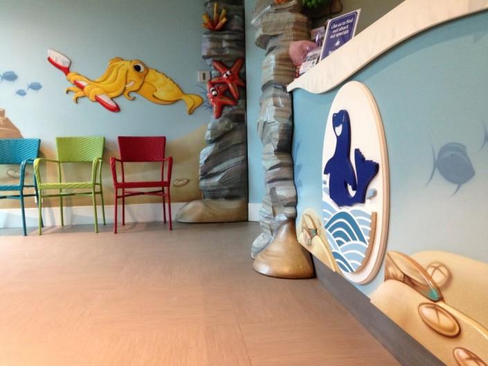Children Dentist Interior Design