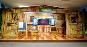 New Life Church kid's clubhouse