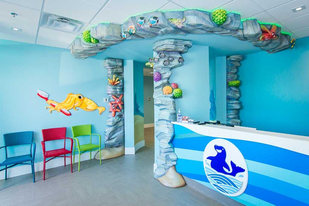 Interior Design | Pediatric Dental Office Design, Dentist ...