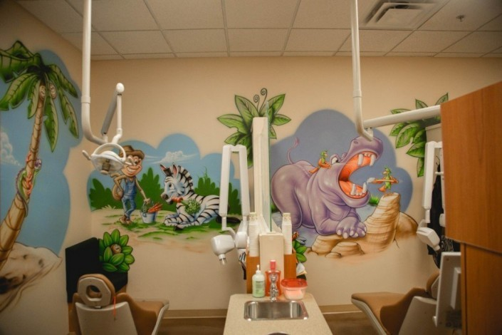 how to design a pediatric dental office