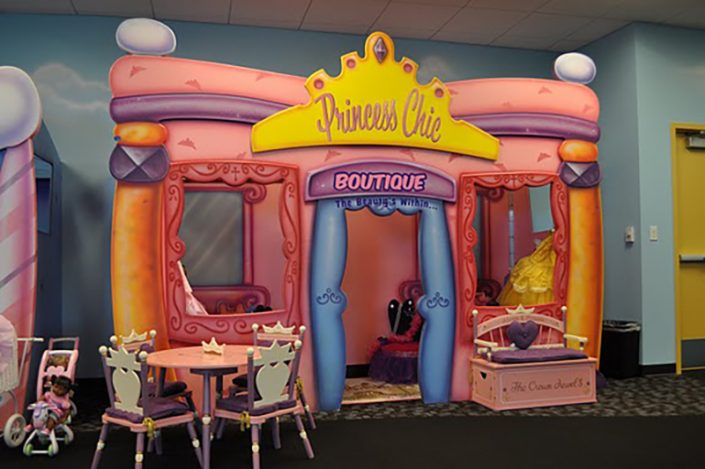 CoolStuff Studios custom themed princess boutique