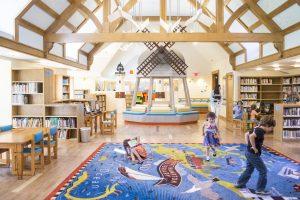 children's themed library