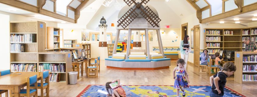 children's themed library